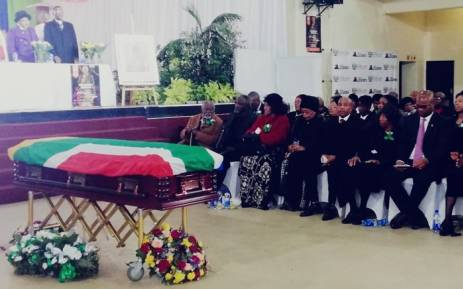 Winston Ntshona's Official Provincial Funeral in the Eastern Cape on 10 August 2018. Picture: Twitter/ @ArtsCultureSA.
