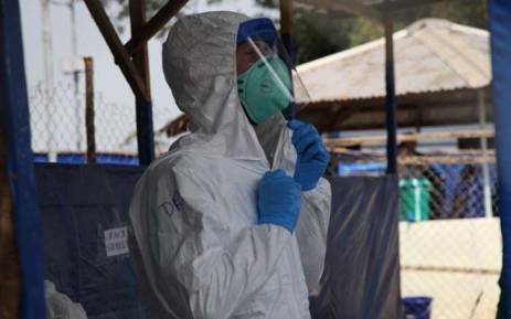 FILE: New Ebola outbreak has been declared in the Democratic Republic of Congo. Picture: @WHOAFRO/Twitter.