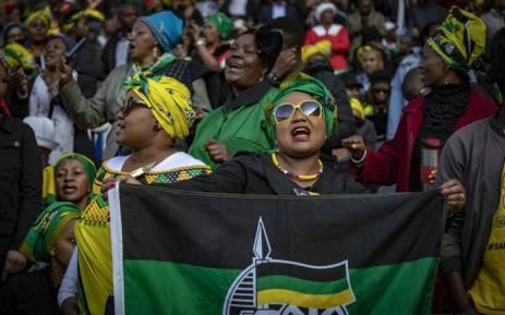 Mourners have gathered inside the Orlando Stadium for Winnie Madikizela Mandela's funeral. Thomas Holder/EWN