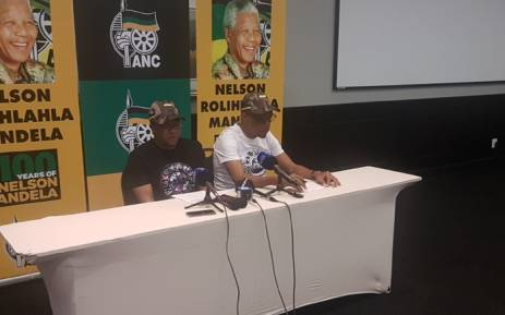 ANC's Head of Elections Fikile Mbalula addressing the media on the ruling party's campaign goal for 2019 national elections. Picture: Thando Kubheka/EWN.