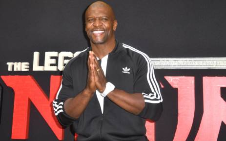 Actor Terry Crews arrives for the premiere of 'The Lego Ninjago Movie' in Los Angeles, California on 16 September, 2017. Picture: AFP