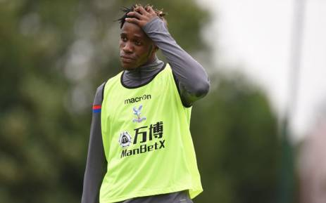 Crystal Palace winger Wilfried Zaha has been ruled out for a month due to a knee problem.. Picture: Twitter/@wilfriedzaha.