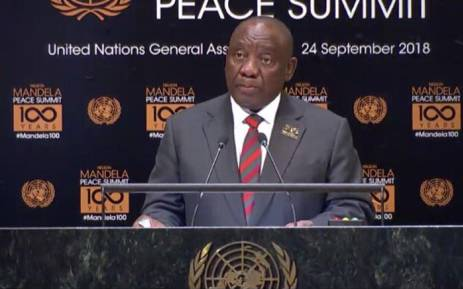 Ramaphosa to Unveil Mandela Statue At UN HQ On Heritage Day