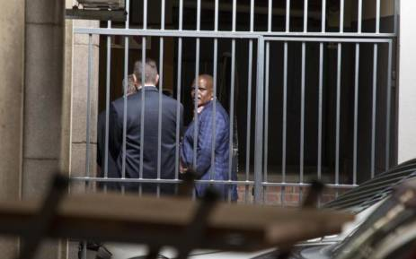 FILE: Former acting National Police Commissioner Khomotso Phahlane is seen at the Commercial Crimes Court in Pretoria where he was appearing on fraud and corruption charges. Picture: Ihsaan Haffejee/EWN.