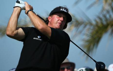 FILE: American Phil Mickelson. Picture: AFP.