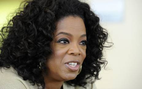 FILE: US talk show queen Oprah Winfrey. Picture: AFP.