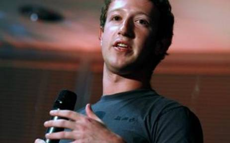 Facebook founder and CEO Mark Zuckerberg. Picture: AFP.