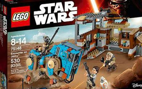 'Star Wars' Lego. Picture: Lego.com