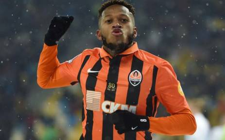 Fred in the colours of his current club Shakhtar Donetsk. Picture: @FCShakhtar/Twitter
