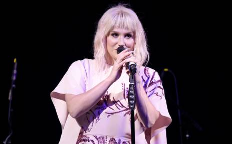 Singer Kesha performs in May 2016 in Hollywood, California. Picture: AFP.