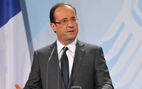 French President Francois Hollande. Picture: AFP