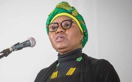 FILE: Minister of Small Business Development Lindiwe Zulu at the ANC national policy conference at Nasrec on 2 July 2017. Picture: Thomas Holder/EWN