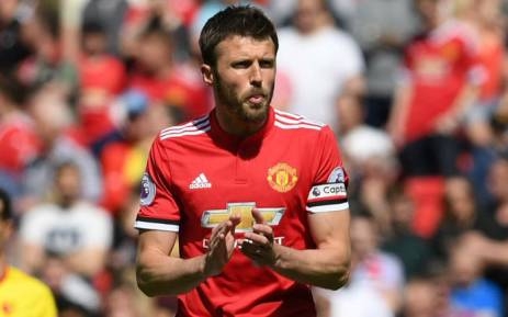 Michael Carrick in his final match for Manchester United on 13 May 2018. Picture: @ManUtd/Twitter