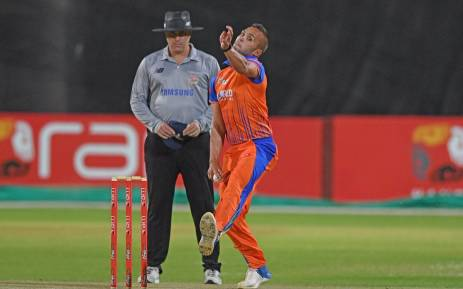 Cobras seamer Dane Paterson took 4/24 against the Knights in their T20 Challenge match on 6 December, 2017. Picture: Twitter/@CobrasCricket