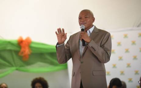 Premier of the North West Province, Supra Mahumapelo. Picture: Official Bokone Bophirima Government Flickr account.