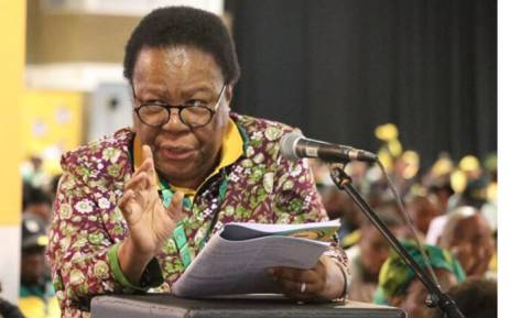 Naledi Pandor at the ANC national conference. Picture: @MYANC/Twitter