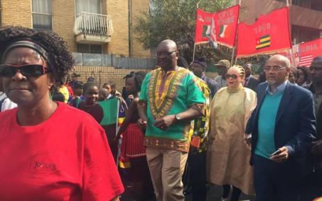 Gauteng Premier David Makhura during Africa Day celebrations in Yeoville, Johannesburg on 25 May 2016. Picture: Masa Kekana/EWN