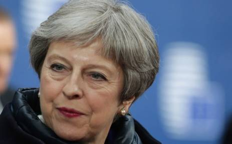 British Prime Minister Theresa May. Picture: AFP
