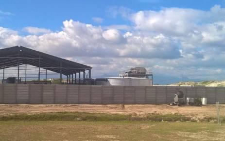 FILE: The desalination plant under construction at Strandfontein. Picture: Zunaid Ismael/EWN