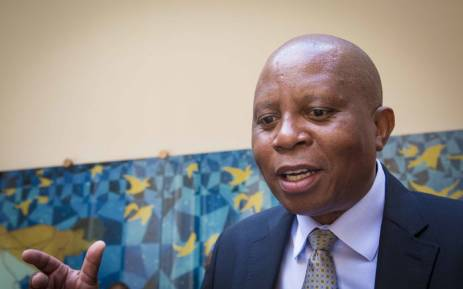 City of Johannesburg Mayor Herman Mashaba  is interviewed outside council chambers. Picture: Thomas Holder/EWN