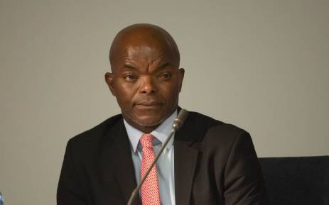 FILE: Interim Eskom CEO Phakamani Hadebe at a media briefing on 3 May 2018.  Picture: Christa Eybers/EWN