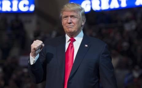 FILE: US President Donald Trump. Picture: AFP