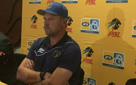 Cape Town City FC coach Eric Tinkler. Picture: Carl Lewis/EWN