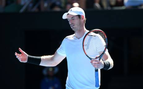 FILE: Top seeded Briton Andy Murray. Picture: Twitter/@AustralianOpen.