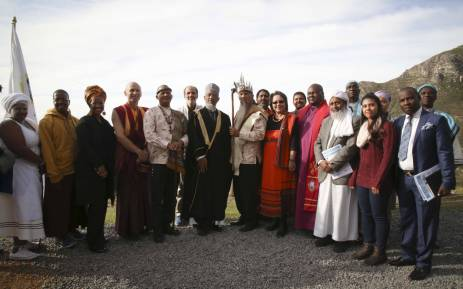 Mayor of Cape Town Patricia De Lille hosted an interfaith prayer meeting for rain in the Western Cape. Picture: Cindy Archillies/EWN.