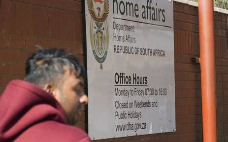 Department of Home affairs. Picture: Sethembiso Zulu/EWN