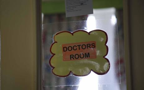 FILE: A sign at a doctor's room. Picture: Cindy Archillies/EWN