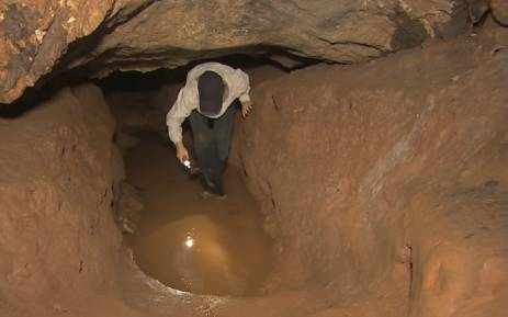 A look at the dangerous cave complex in Thailand. Picture: CNN