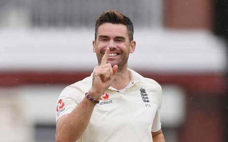 England pace bowler James Anderson. Picture: @englandcricket/Twitter.