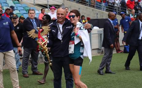 Ann Ashworth won the 2018 Comrades women's race. Picture: Comrades Marathon/Twitter