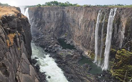 Victoria Falls during dry season. Picture: Victoriafallstourism.org.