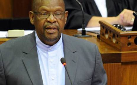 FILE: Chairperson of Parliament's Justice Committee Mathole Motshekga. Picture: Supplied.