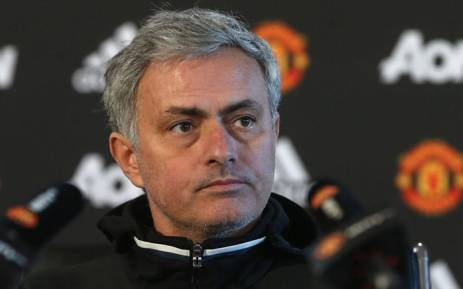 FILE: Manchester United manager Jose Mourinho. Picture: Twitter/@ManUtd.
