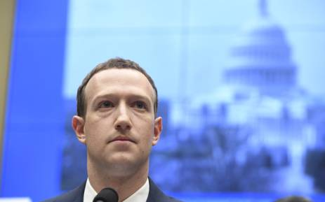 Facebook CEO and founder Mark Zuckerberg testifies during a US House Committee on Energy and Commerce hearing about Facebook on Capitol Hill on 11 April 2018. Picture: AFP.