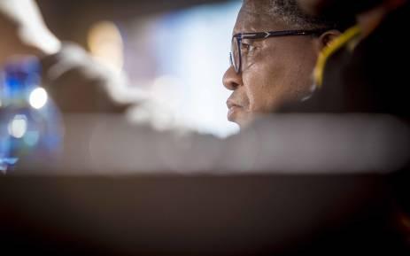 Minister of Police Fikile Mbalula addressed the media at the ANC NPC. Picture: Thomas Holder/EWN.