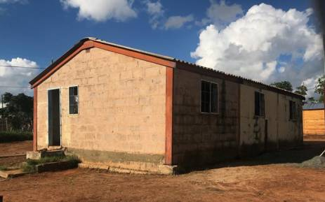 The house in Brandfort where Winnie Madikizela-Mandela was detained for nearly eight years. Picture: Christa Eybers/EWN
