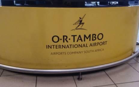 FILE: OR Tambo International Airport. Picture: Winnie Theletsane/EWN.