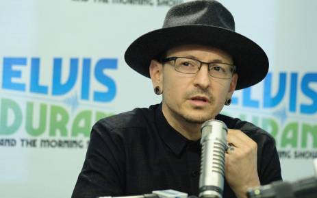 "Linkin Park lead singer Chester Bennington visits ""The Elvis Duran Z100 Morning Show"" at Elvis Duran Offices on 21 February, 2017 in New York City. Picture: AFP"