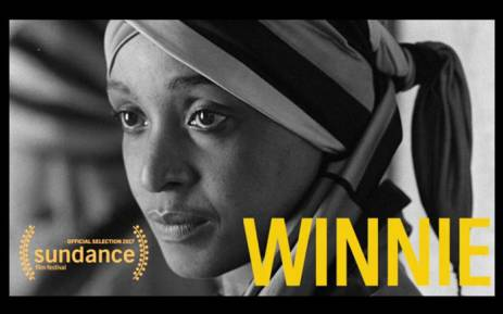 A screengrab shows the documentary 'Winnie', based on Winnie Madikizela-Mandela.