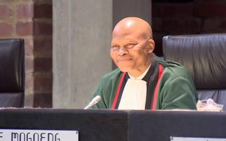 Chief Justice Mogoeng Mogoeng.  Picture: EWN