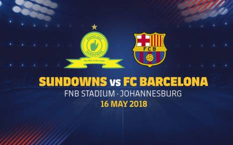 Mamelodi Sundowns will face FC Barcelona at FNB Stadium on 16 May 2018. Picture: FCBarcelona.com