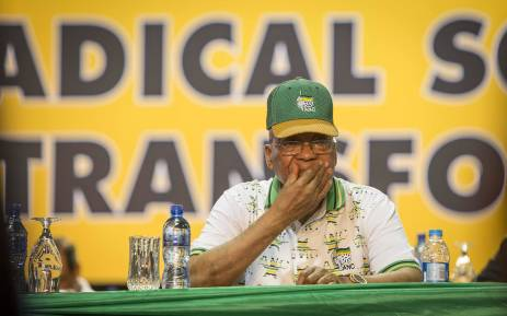 Jacob Zuma ahead of the announcement of the ANC's new top 6 on 18 December 2017. Picture: Thomas Holder/EWN