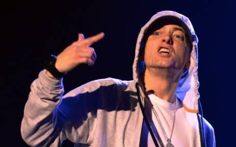 FILE: US rapper Eminem. Picture: AFP.