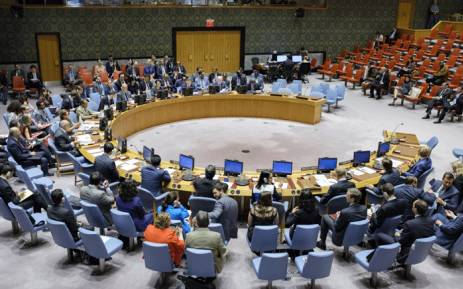 FILE: A wide view of the UN Security Council meeting on the situation in Burundi. Picture: United Nations.
