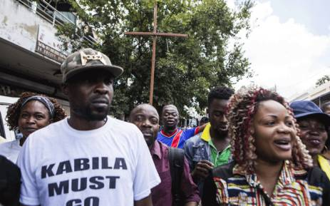 FILE: Congolese nationals take part in a march asking Democratic Republic of Congo (DRC) president to leave office in Yeoville district of Johannesburg on 18 January 2018. Picture: AFP