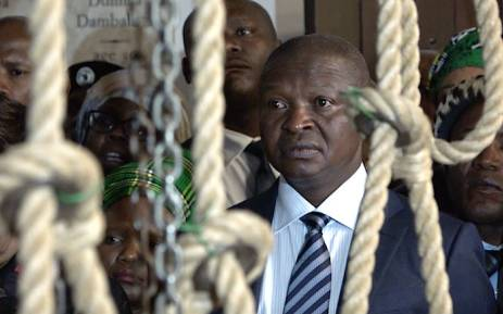 FILE: Deputy President David Mabuza along with Mahlangu's family and invited guests re-enacted his last moments as they climbed the 52 Steps to the reconstructed gallows at Kgosi Mampuru 11 Correctional Facility formerly know as Pretoria's Central Prison. Picture: Louise McAuliffe/EWN